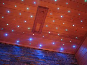 cielo stellato sauna