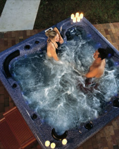 Vision Hot Tubs chromotherapy